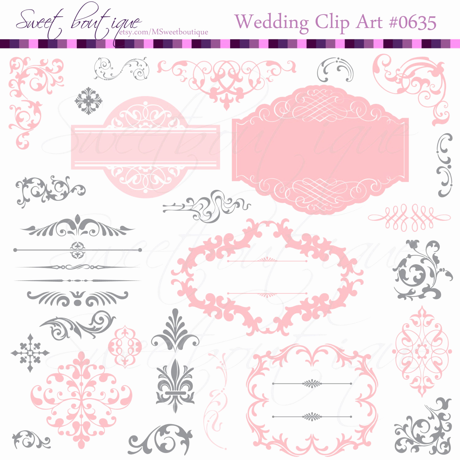 Wedding Invitation Clip Arts Best Of Wedding Digital Frames Clip Art Clipart Scrapbook Invitation