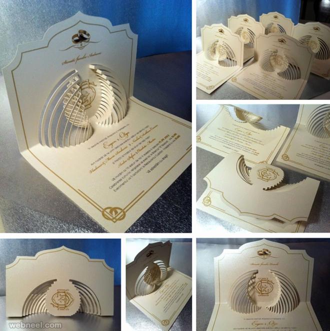 Wedding Invitation Design Ideas Awesome Designplx • 25 Creative and Unsual Wedding Invitation Card