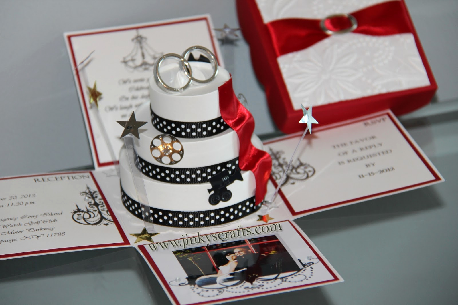 Wedding Invitation Design Ideas Fresh Jinky S Crafts & Designs Hollywood themed Wedding Invitations