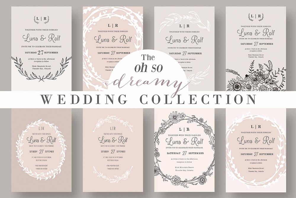 Wedding Invitation Design Ideas Inspirational 50 Wonderful Wedding Invitation & Card Design Samples