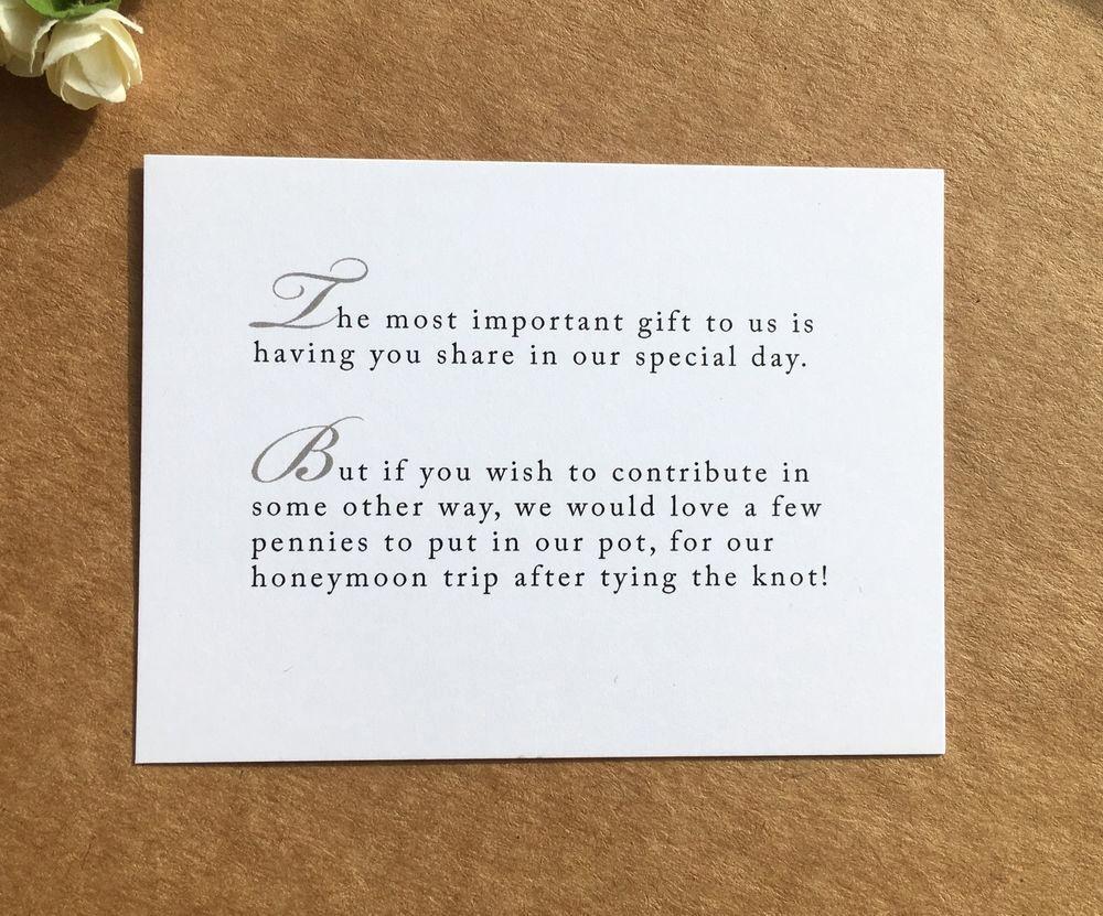 Wedding Invitation Details Card Wording Beautiful Details About Wedding Poem Card Inserts Wedding