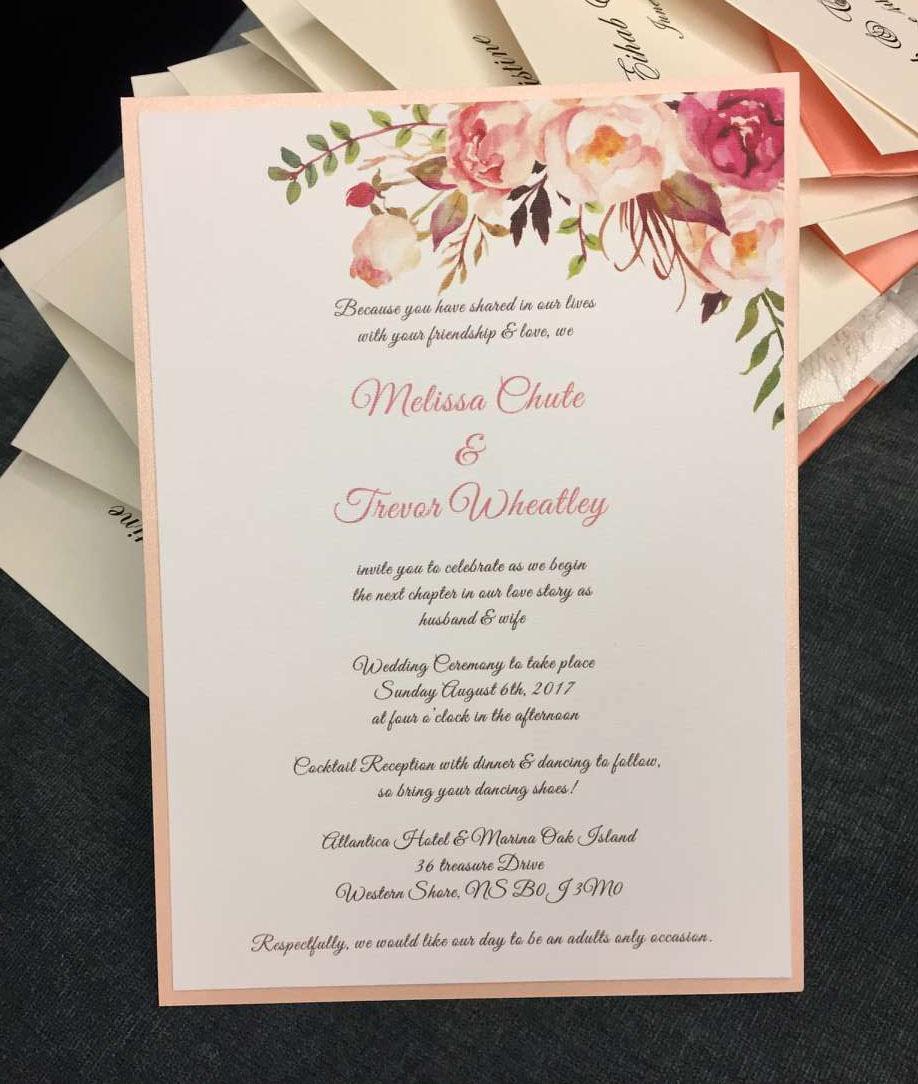 Wedding Invitation Details Card Wording Best Of Floral Wedding Invitation Rsvp Details Card Wedding Card