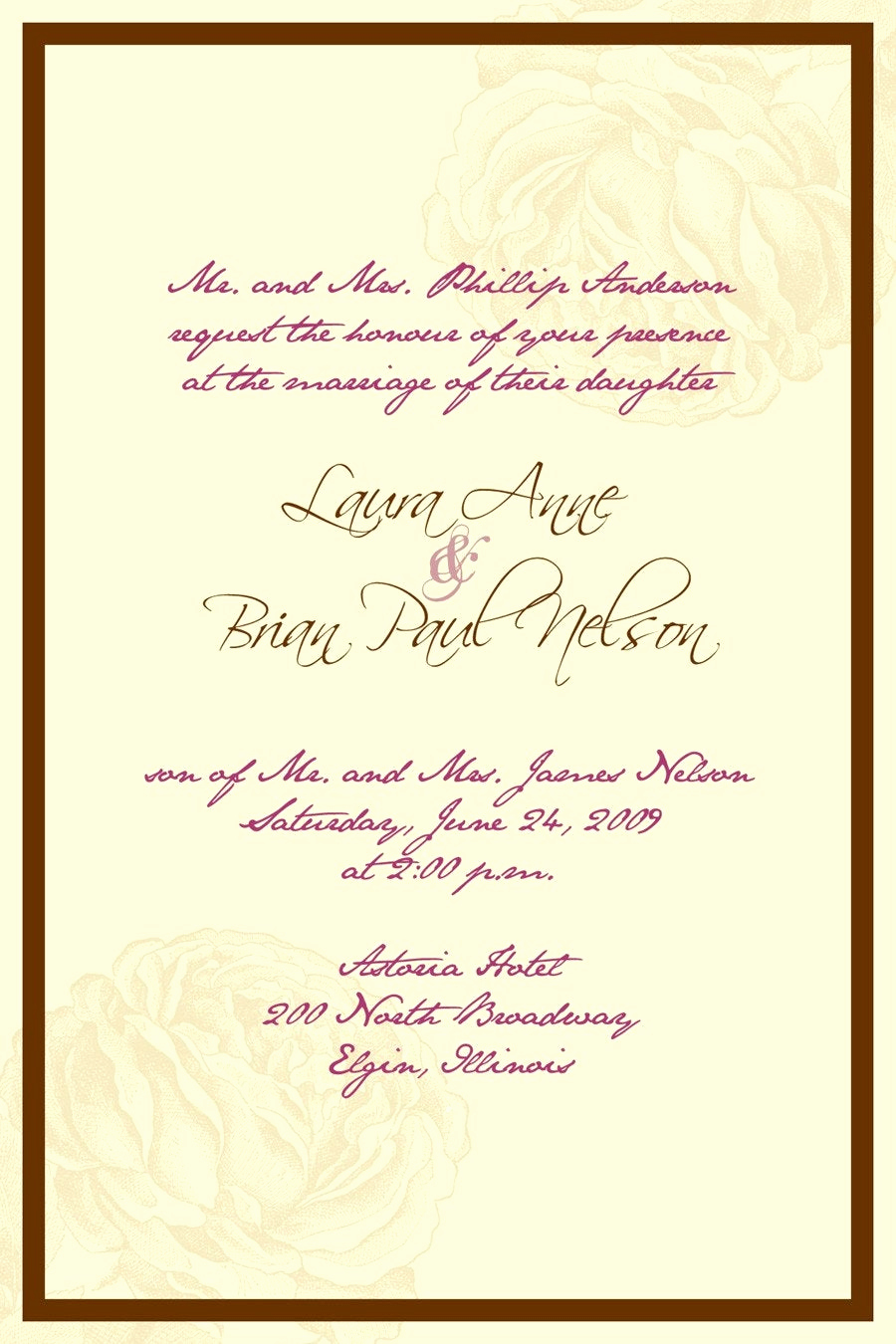 Wedding Invitation Details Card Wording Fresh Kerala Wedding Invitation Cards Samples