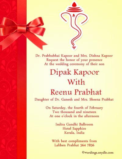 Wedding Invitation Details Card Wording Unique Indian Wedding Invitation Wording
