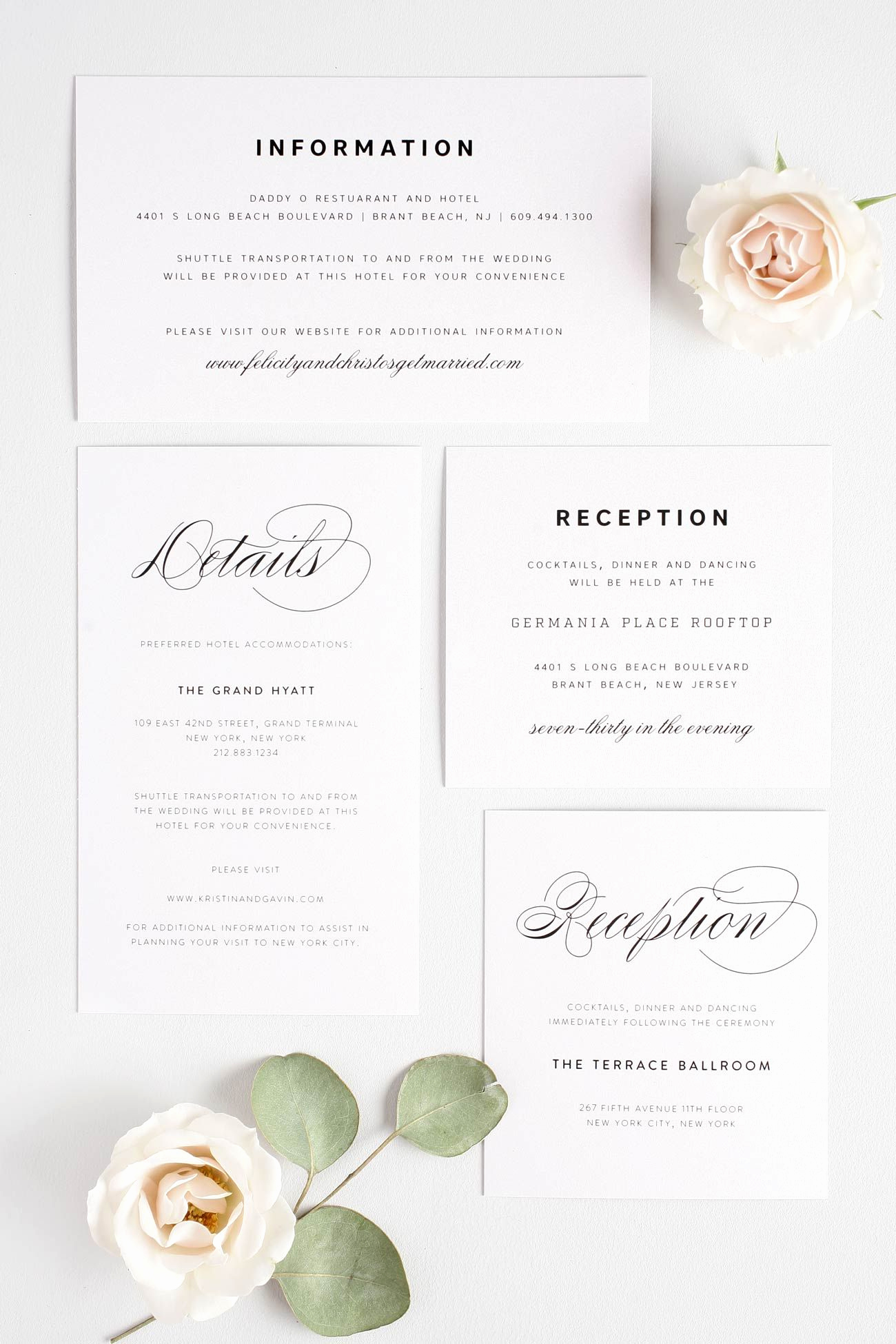 Wedding Invitation Details Card Wording Unique Small Enclosures Wording 101
