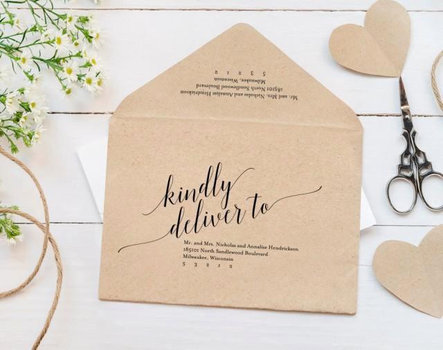 calligraphy envelope printable envelope template wedding envelope editable envelope template a7 rsvp pdf instant bpb310 34