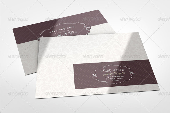 Wedding Invitation Envelope Template New 15 Addressing Wedding Invitation Templates – Free Sample