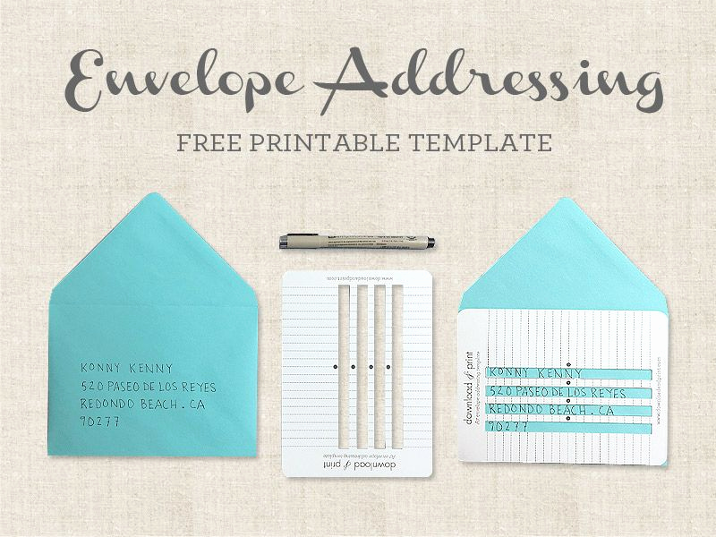Wedding Invitation Envelope Templates Luxury Handwritten Envelopes Addressing Template