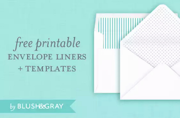 Wedding Invitation Envelopes Templates Fresh 4 Free Printable A7 Envelope Templates