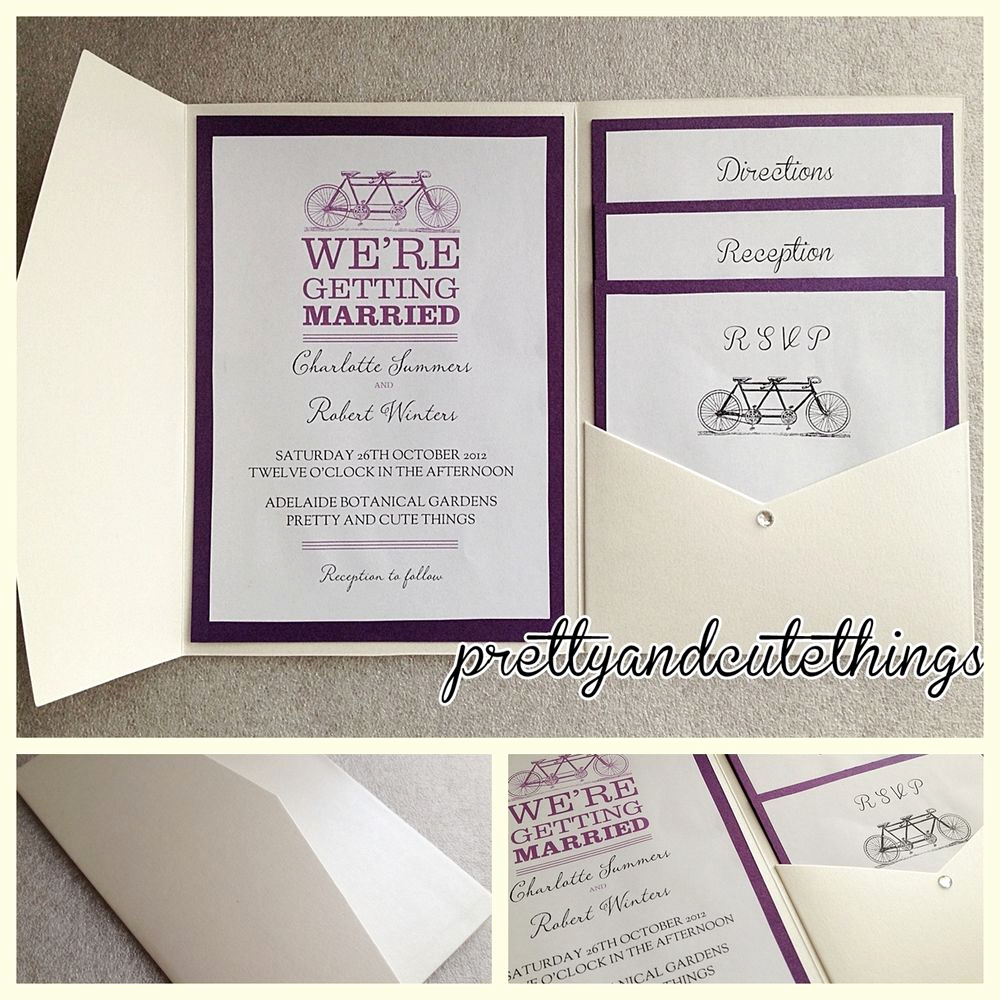 Wedding Invitation Envelopes Templates Inspirational Ivory Cream Vintage Wedding Invitations Diy Pocket Fold