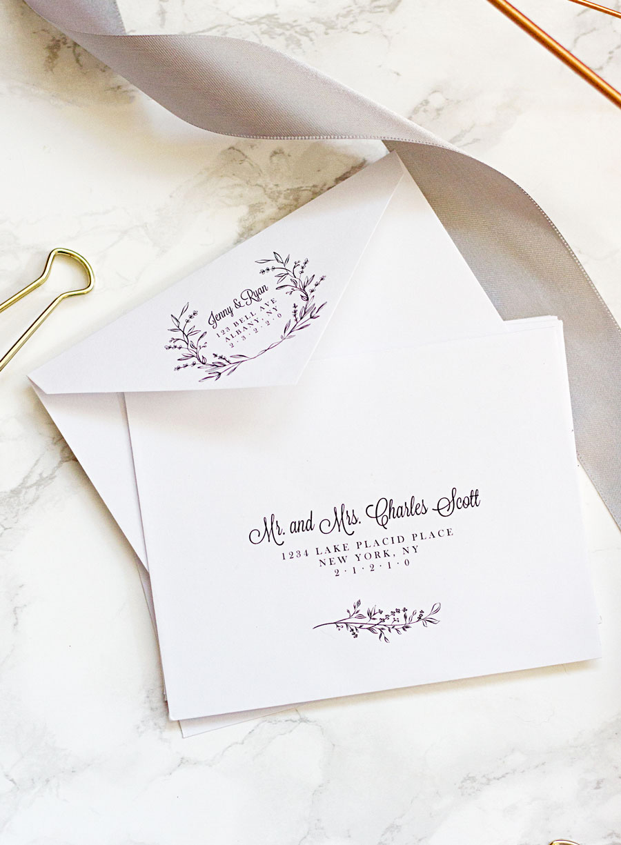 Wedding Invitation Envelopes Templates Lovely Easy Printable Envelope Template