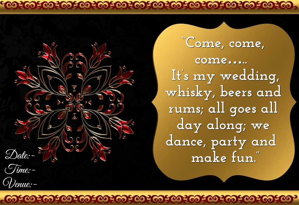 Wedding Invitation for Friends Awesome Wedding Invitation Wordings for Friends Invite Quotes