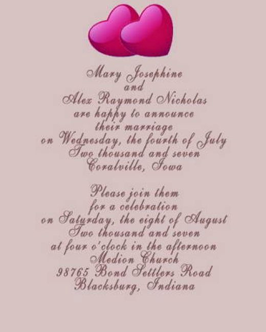 Wedding Invitation for Friends Best Of Marriage Quotes for Wedding Invitations In English Image