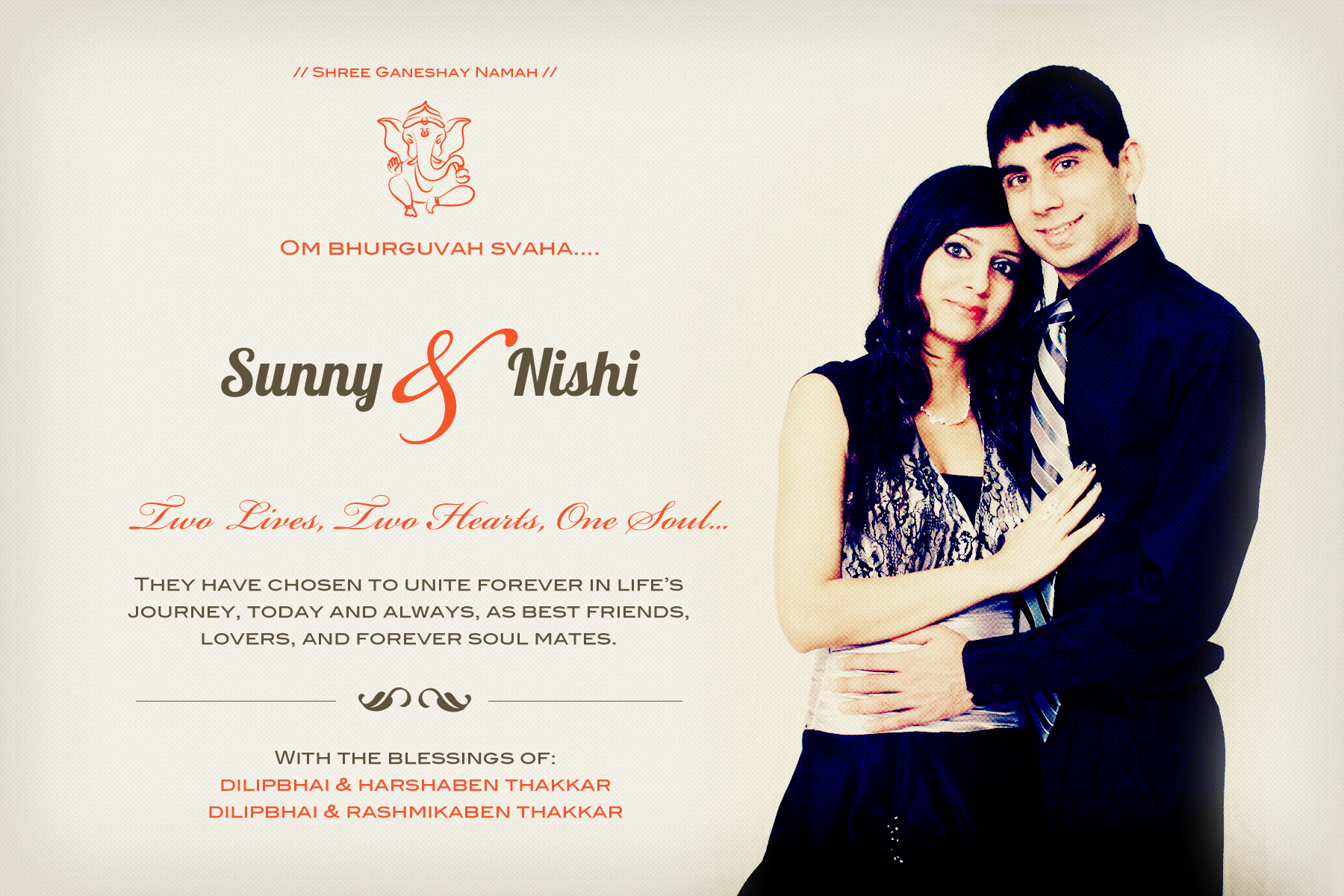 Wedding Invitation for Friends Lovely Friends Wedding Wedding Invitations Hyderabad Indian