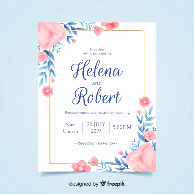 Wedding Invitation Frame Ideas Awesome Invitation Card Vectors S and Psd Files