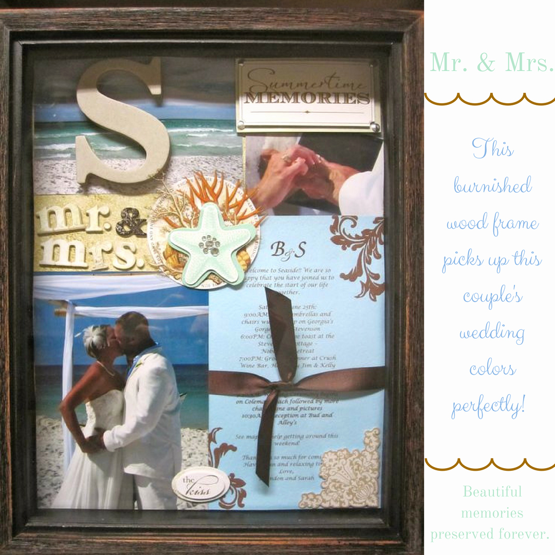Wedding Invitation Framing Ideas Fresh Framing Your Wedding Invitations and Mementos