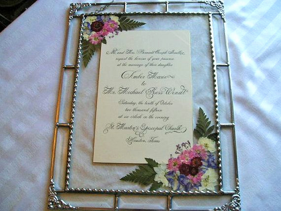 Wedding Invitation Framing Ideas Inspirational Best 25 Framed Wedding Invitations Ideas On Pinterest