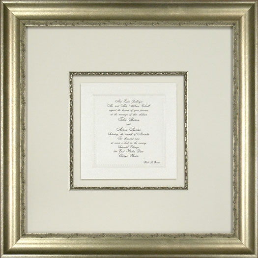 Wedding Invitation Framing Ideas Luxury Custom Picture Framing