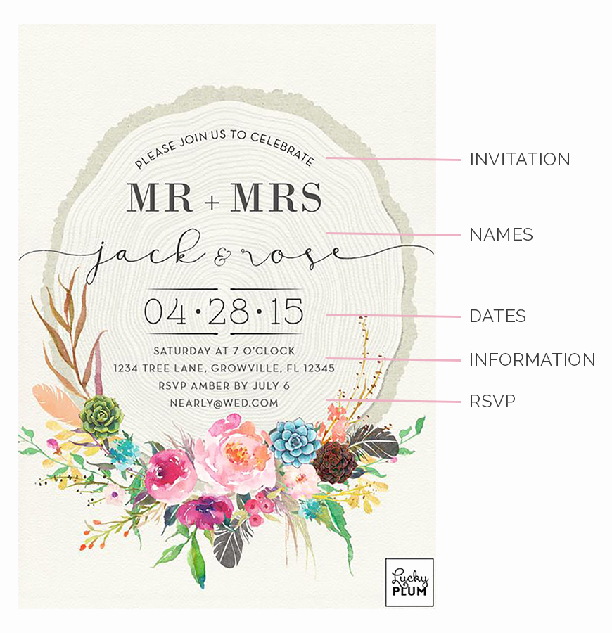 Wedding Invitation From Child Wording Beautiful Writing Your Day Invitations