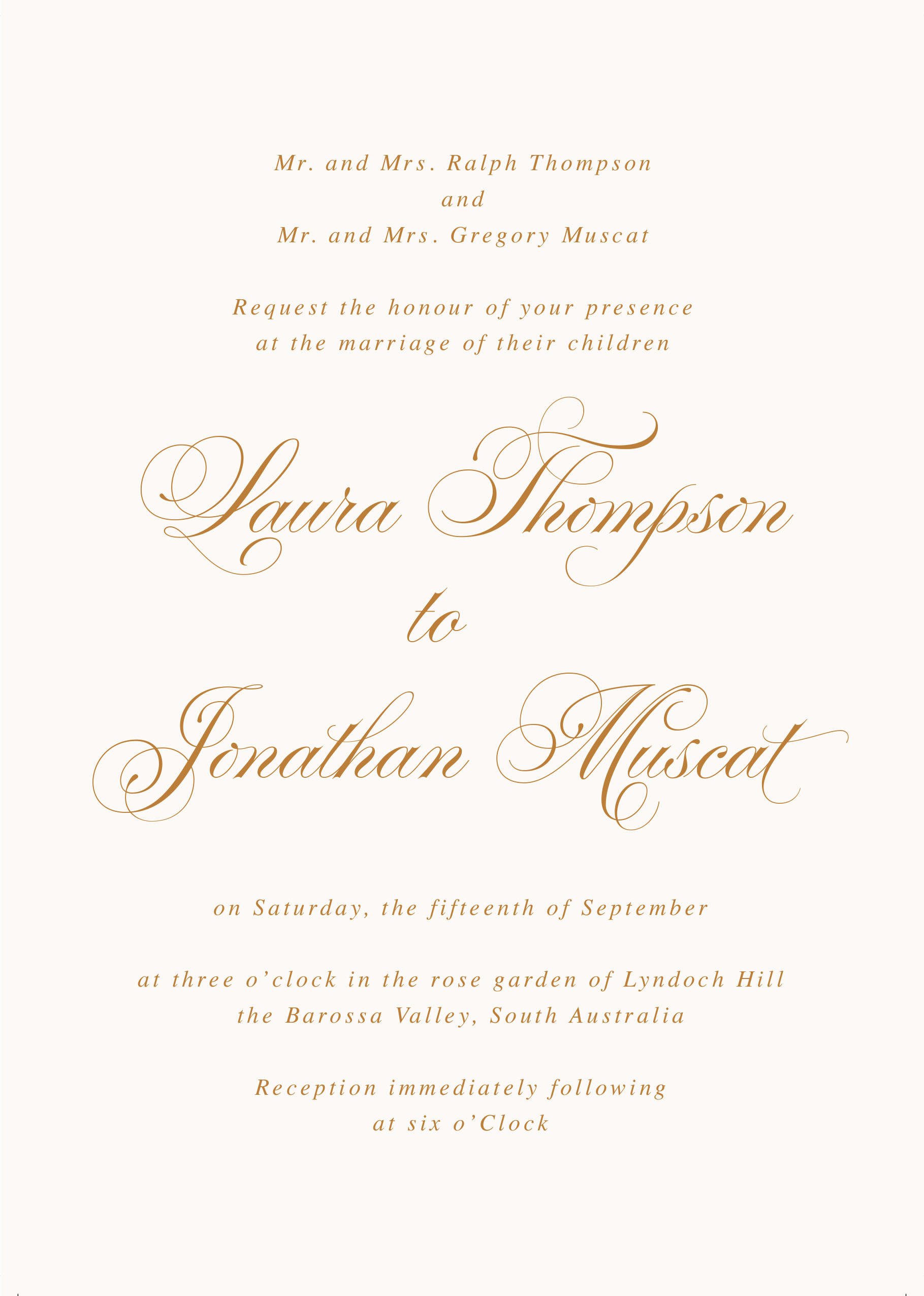 Wedding Invitation From Child Wording Elegant formal Wording for Wedding Invitations Traditional