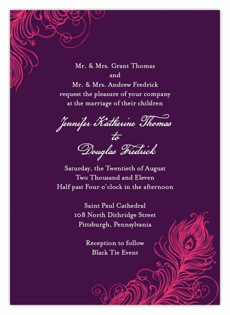 Wedding Invitation From Child Wording Elegant Indian Wedding Invitation Wording Template