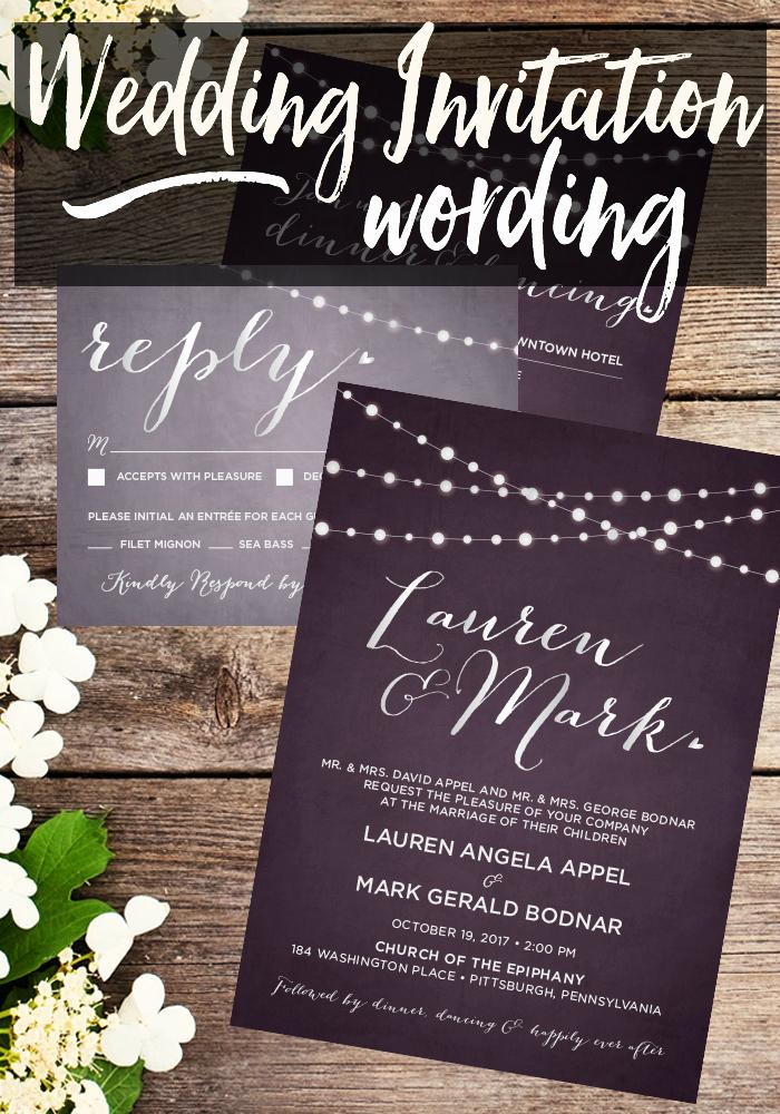 Wedding Invitation From Child Wording Inspirational Wedding Invitation Wording • Taylor Bradford