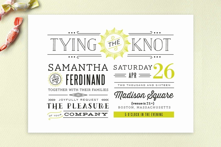 Wedding Invitation From Child Wording Luxury E Fool Proof Way to Have An Adults Only Wedding