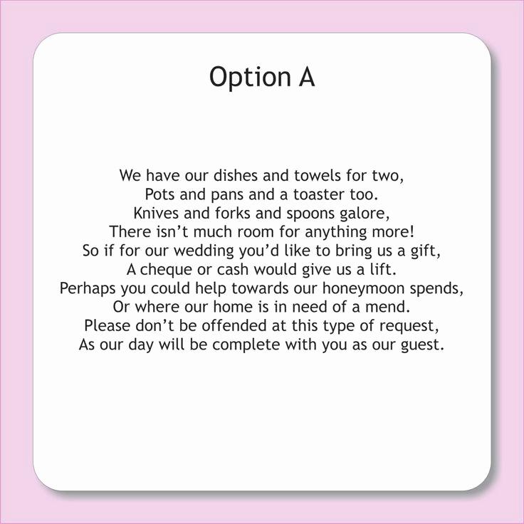 Wedding Invitation From Child Wording Luxury Wording for Wedding Invitations asking for Money Google