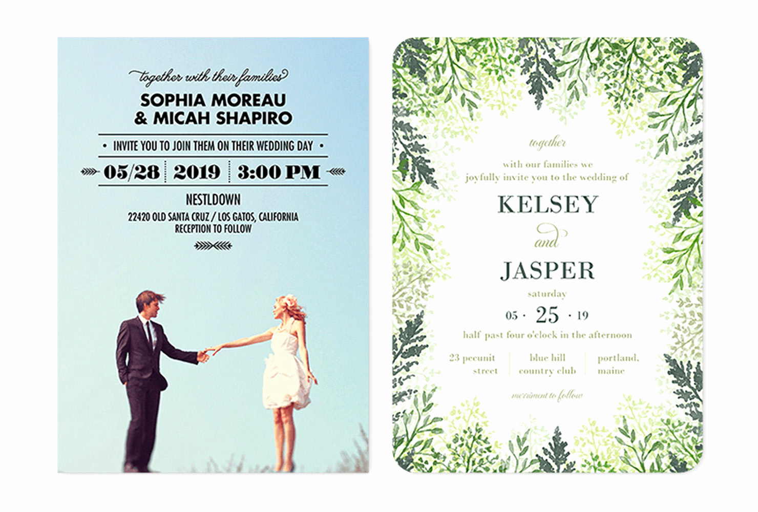 Wedding Invitation From Child Wording New 35 Wedding Invitation Wording Examples 2019