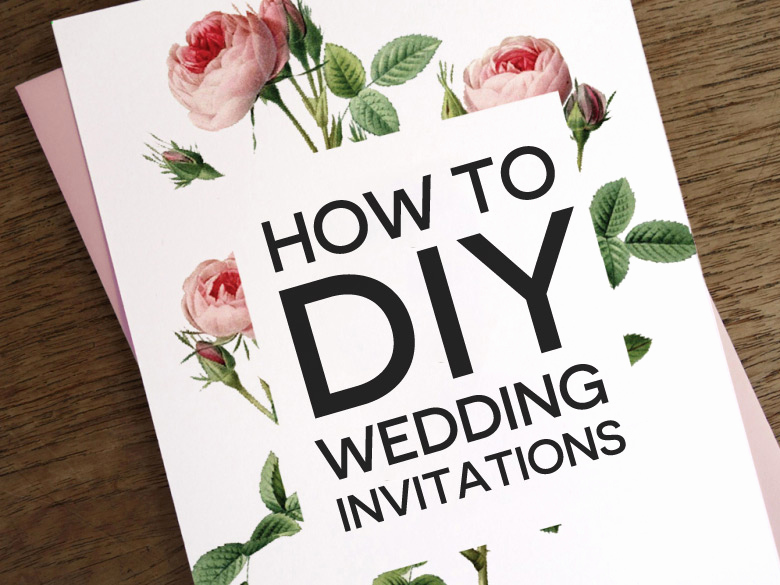 Wedding Invitation Ideas Diy Awesome How to Diy Wedding Invitations