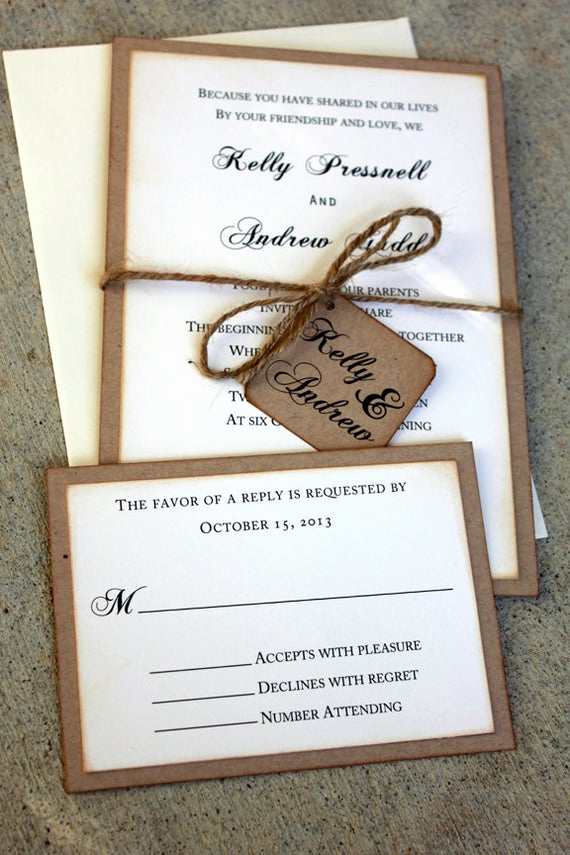 Wedding Invitation Ideas Diy Best Of Wedding Invitations Rustic Wedding Invitations Boho Wedding