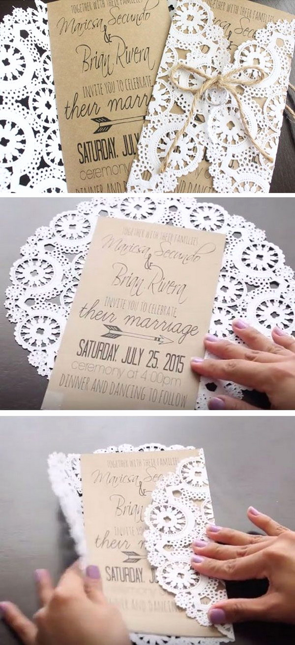 Wedding Invitation Ideas Diy Inspirational 50 Bud Friendly Rustic Real Wedding Ideas Hative