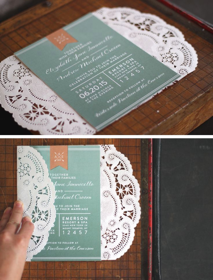 Wedding Invitation Ideas Pinterest Awesome 25 Best Ideas About Doily Invitations On Pinterest