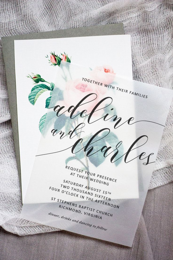 Wedding Invitation Ideas Pinterest Elegant Make these Sweet Floral Wedding Invitations Using Nothing