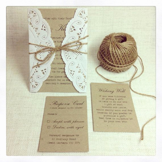 Wedding Invitation Ideas Pinterest Elegant Rustic Wedding Invitations Do It Yourself