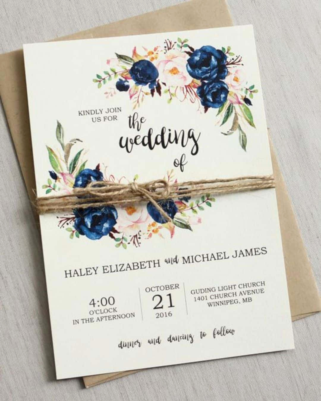 Wedding Invitation Ideas Pinterest Inspirational 16 Beautiful Wedding Invitation Ideas