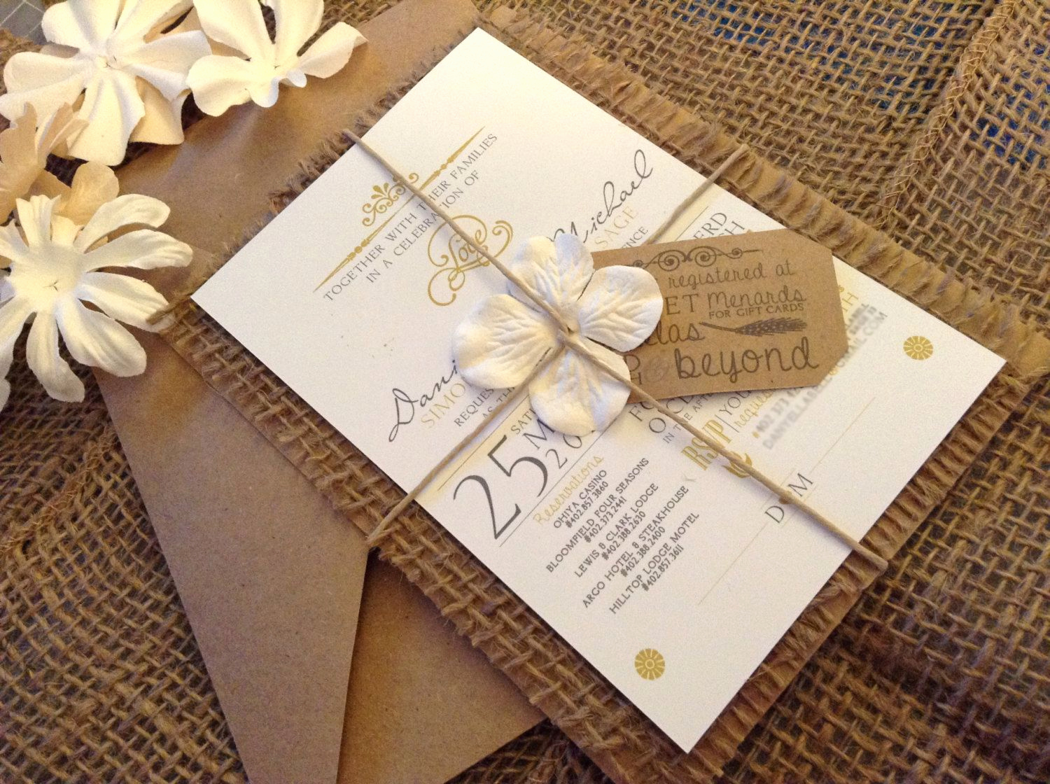 Wedding Invitation Ideas Pinterest Inspirational Best 25 Burlap Wedding Invitations Ideas On Pinterest