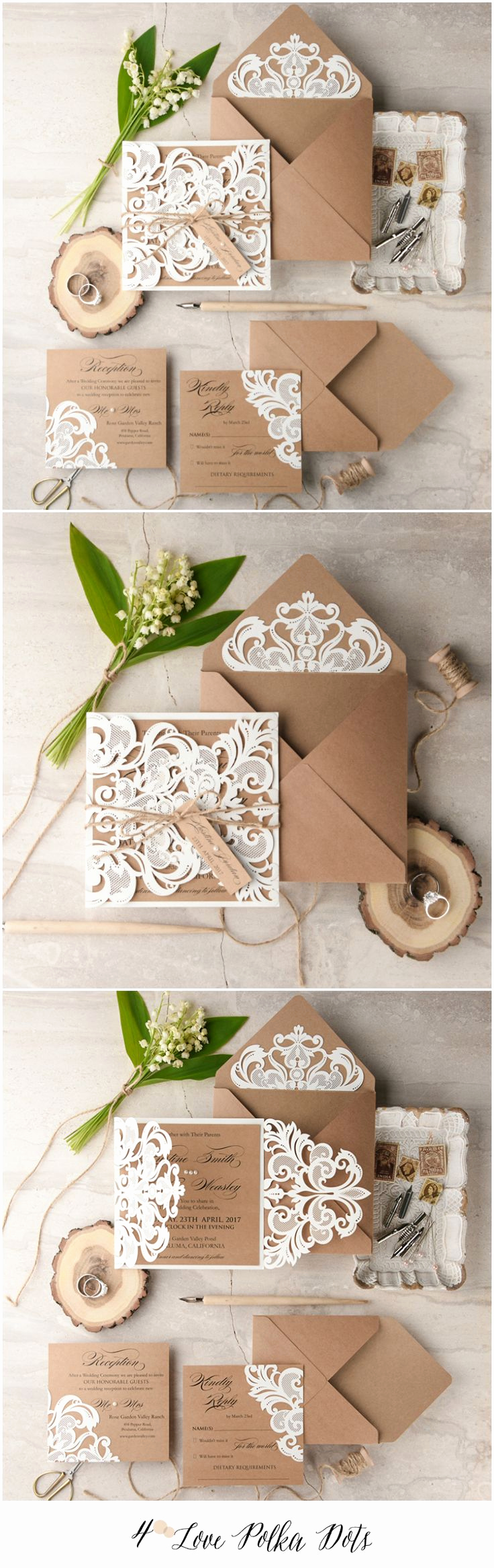 Wedding Invitation Ideas Pinterest Inspirational Best 25 Handmade Wedding Invitations Ideas On Pinterest