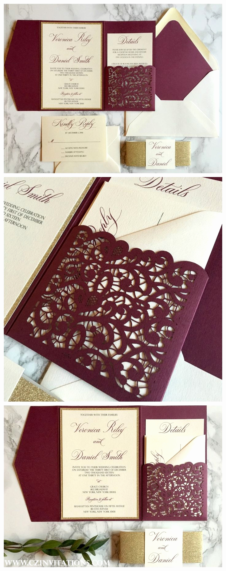 Wedding Invitation Ideas Pinterest Inspirational Best 25 Wedding Invitations Ideas On Pinterest