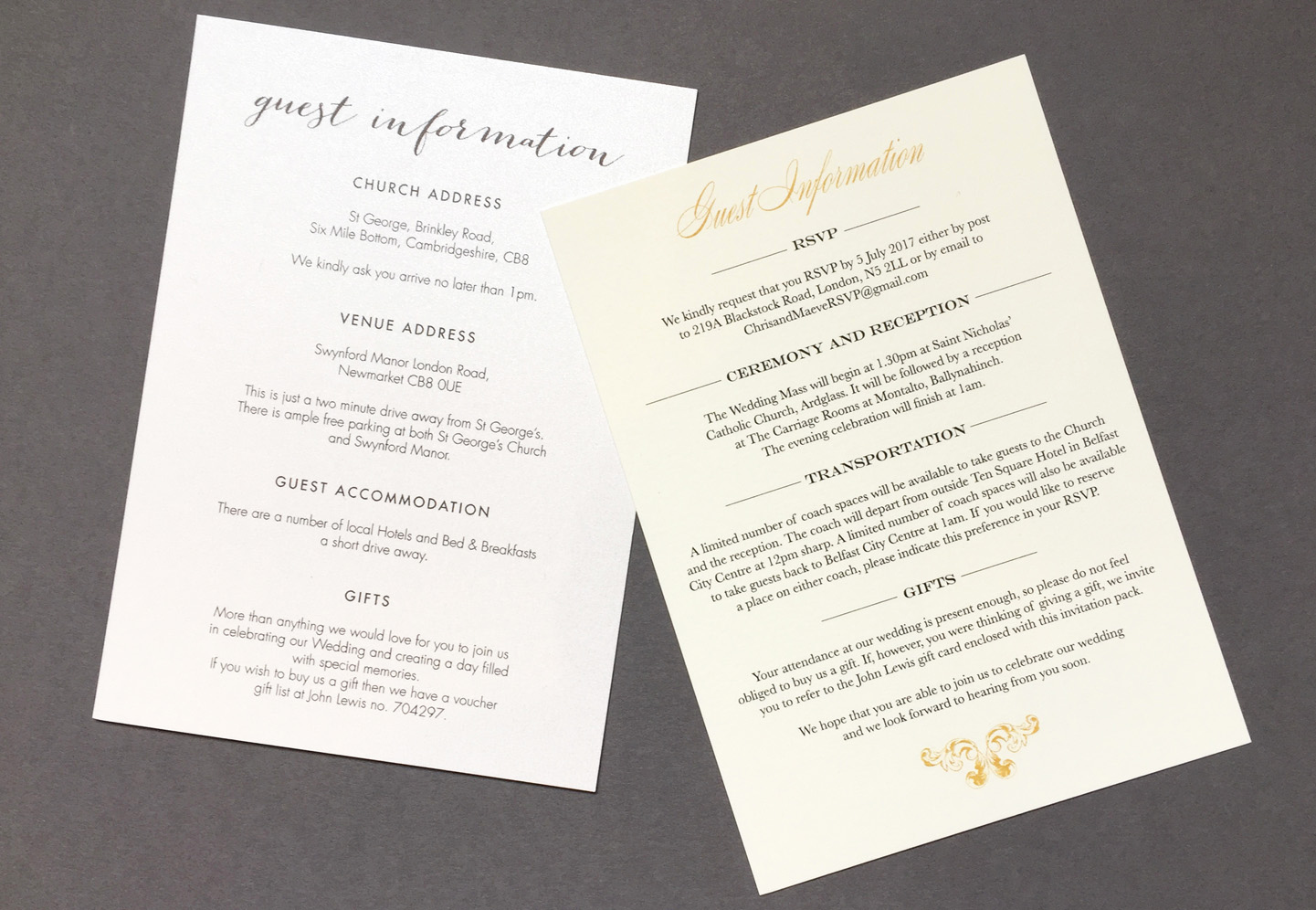 Wedding Invitation Information Card Beautiful Wedding Guest Information Cards What to Include