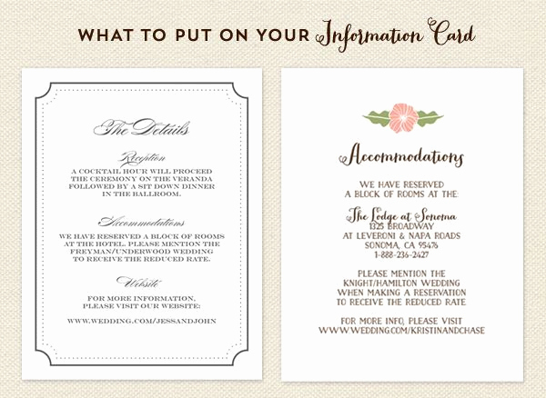 Wedding Invitation Information Card Best Of Image Result for Wedding Invite Information Sheet Example