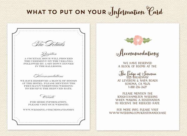 Wedding Invitation Information Card Best Of Image Result for Wedding Invite Information Sheet Example