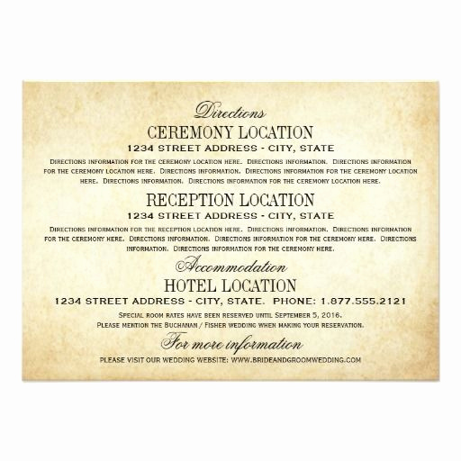 Wedding Invitation Information Card Lovely 414 Best Wedding Reception Cards Images On Pinterest