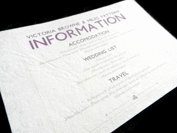 Wedding Invitation Information Card Unique Information Card Inserts for Wedding Invitations 20