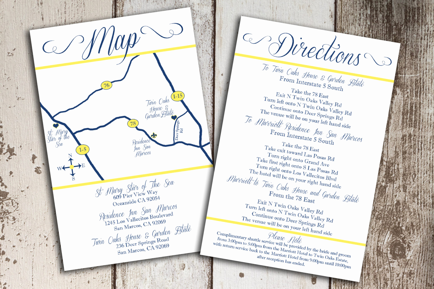 Wedding Invitation Insert Templates Elegant Wedding Invitation Directions