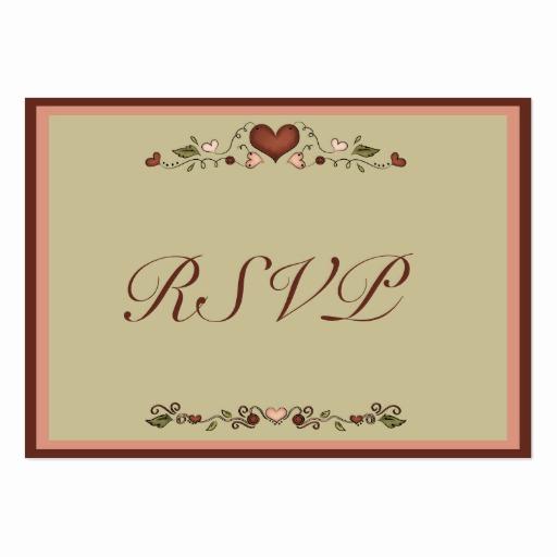 Wedding Invitation Insert Templates Unique Blooming Hearts Wedding Invitation Rsvp Insert