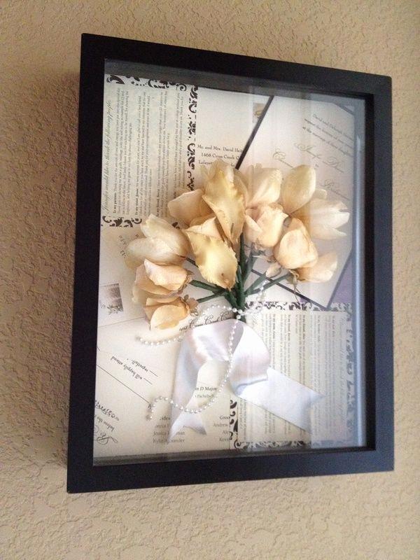 Wedding Invitation Keepsake Frame Awesome 1000 Ideas About Wedding Invitation Keepsake On Pinterest