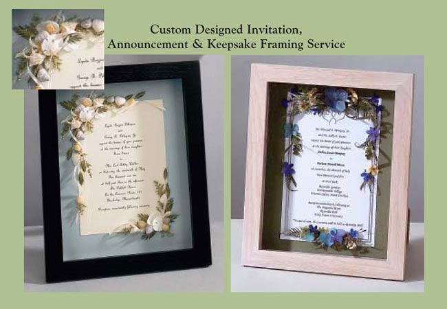 Wedding Invitation Keepsake Frame Elegant 15 Best Images About Wedding Invitations Framed Keepsake