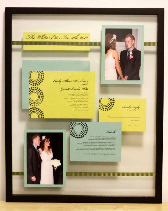 Wedding Invitation Keepsake Frame Elegant 25 Best Ideas About Wedding Invitation Keepsake On