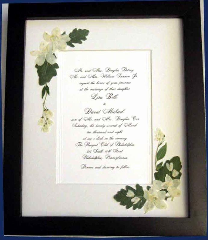 Wedding Invitation Keepsake Frame Inspirational Best 25 Wedding Invitation Keepsake Ideas On Pinterest